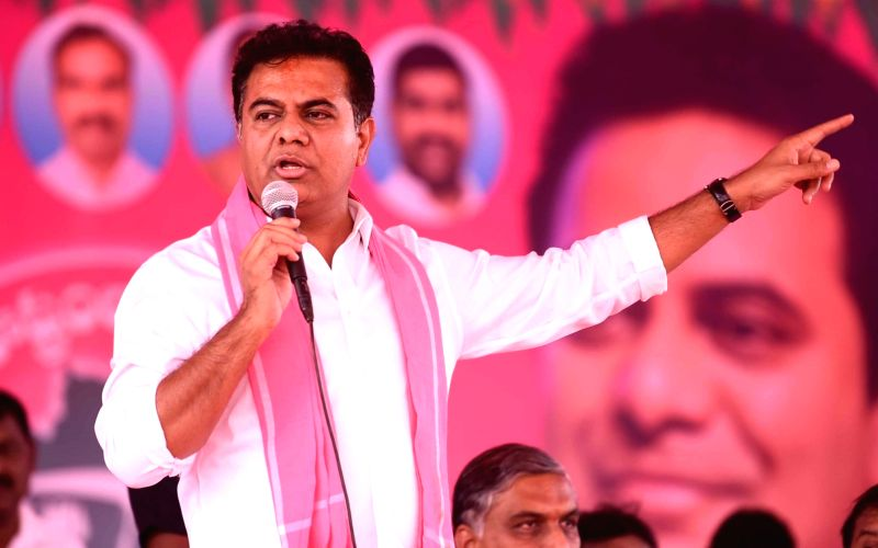 KTR, BJP leader engaged in Twitter war over jobs