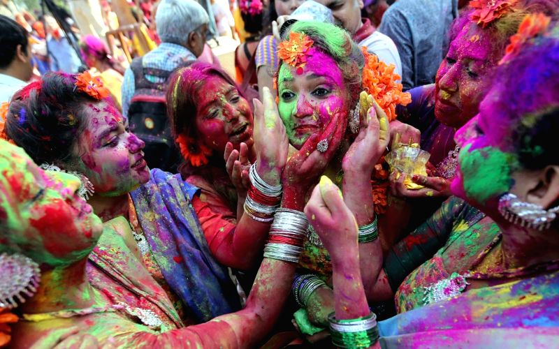 Dol Jatra/Holi celebrated with gaiety in West Bengal