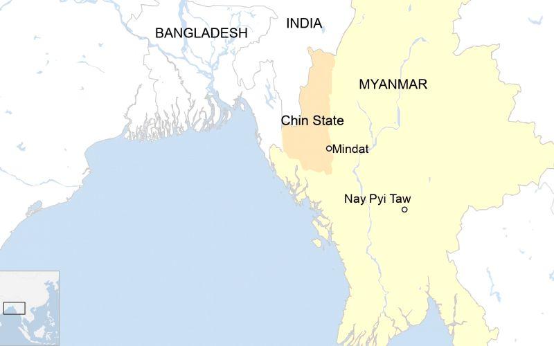 Mindat falls to Myanmar A