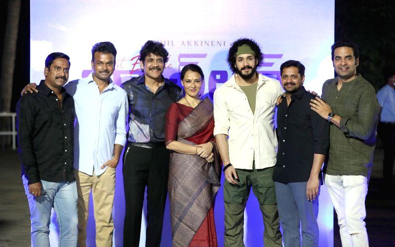 Nagarjuna Appreciated Most Eligible Bachelor Movie Team.