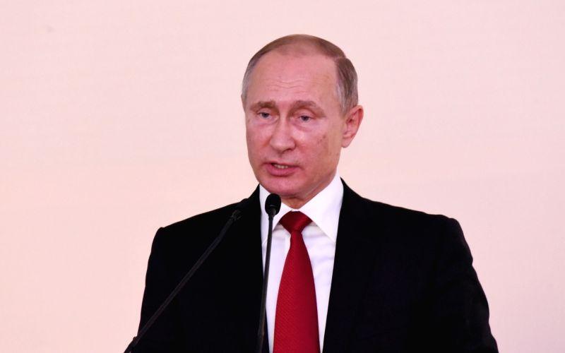 Russia may bid for Olympic Games, Putin says