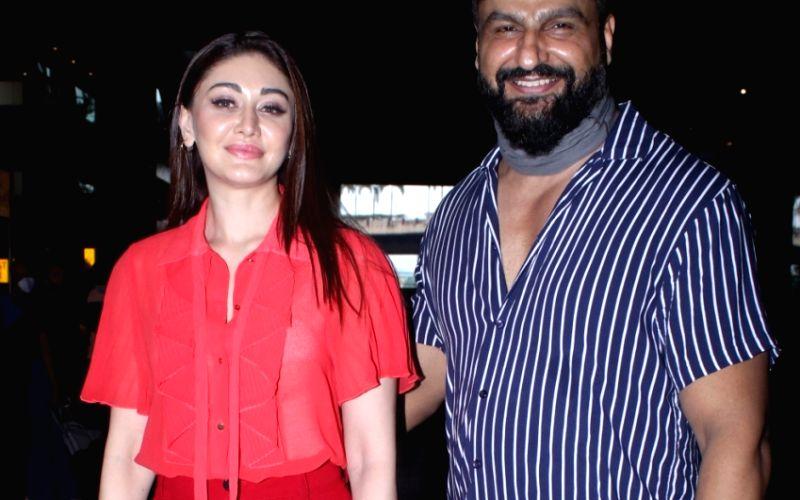 : Mumbai:Shefali Jariwala With Husband Parag Tyagi