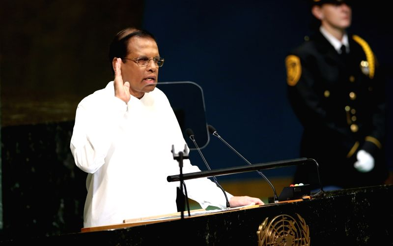 Sri Lanka's President announces security shakeup
