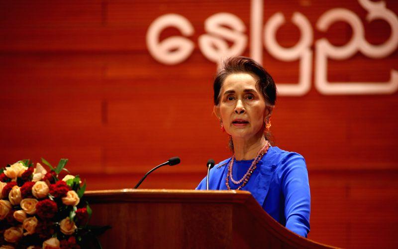 Suu Kyi demands in-person