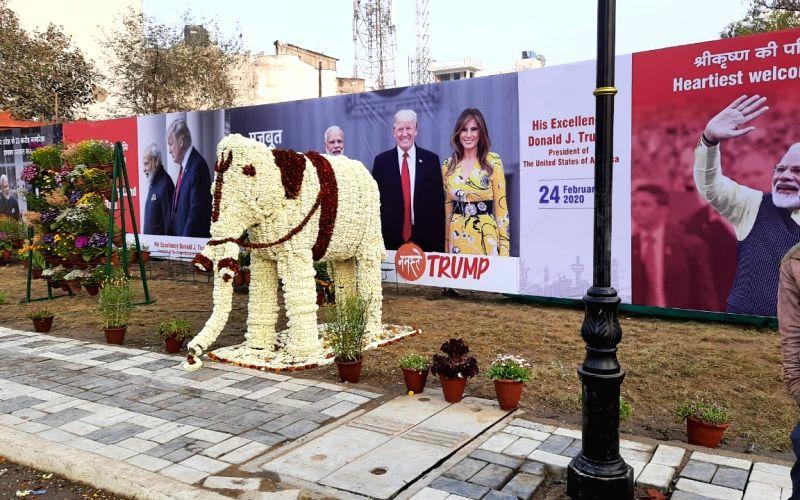 Taj city all set to welcome Trump