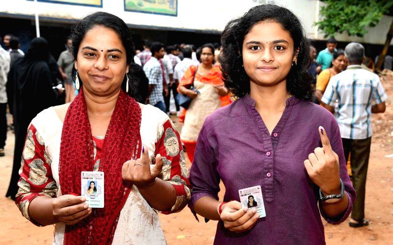 Kerala registers 43.91% voting till 1 p.m.