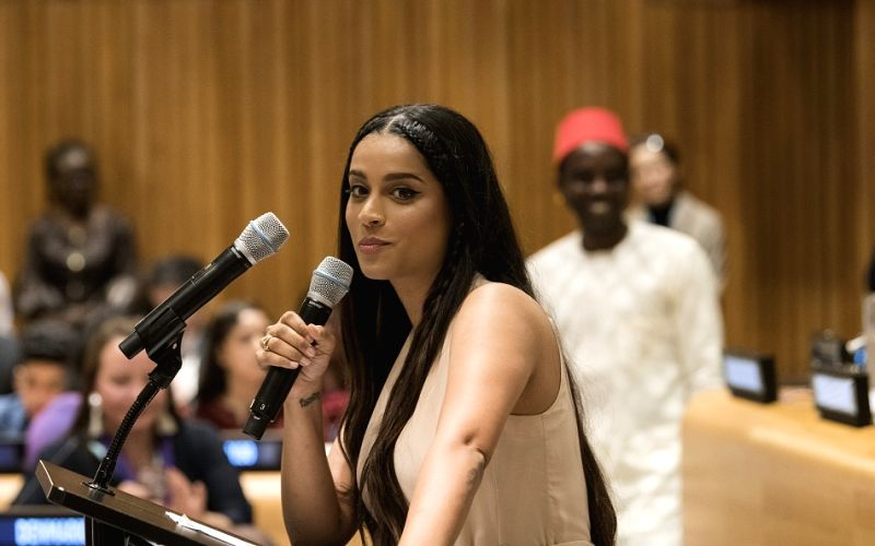 YouTube sensation Lilly Singh tells UN to empower youth