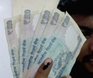 Rupee strengthens on positive global cues