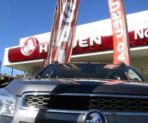A car sales store of General Motors Holden in Sydney