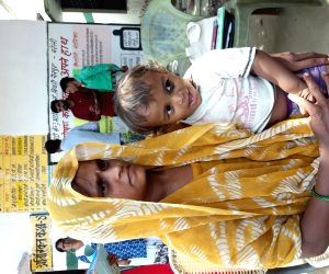 Nutrition intervention brings smile to Ayush's face