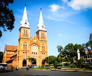 VIETNAM-HO CHI MINH CITY-CHURCH-CHRISTMAS