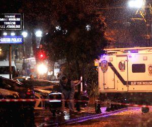 TURKEY ISTANBUL SUICIDE BOMBING