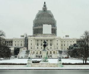 U.S. WASHINGTON D.C. SNOW