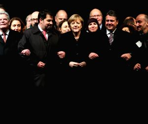 GERMANY BERLIN CHARLIE HEBDO ATTACKS VICTIMS VIGIL