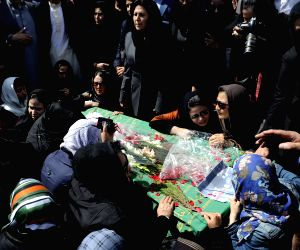 AFGHANISTAN-KABUL-WOMAN FUNERAL CEREMONY
