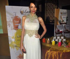 Deepanita endorses Luster cosmetics