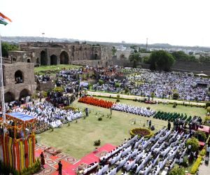 68th Independence Day celebrations - Golkonda Fort