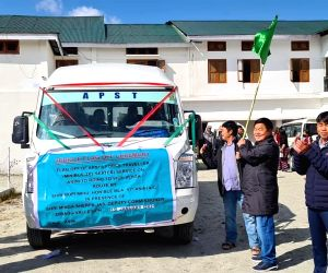 First-ever bus service in Arunachal border area flagged off
