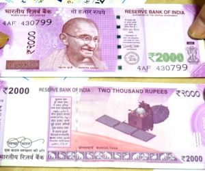 Rs 2000 rupee currency notes
