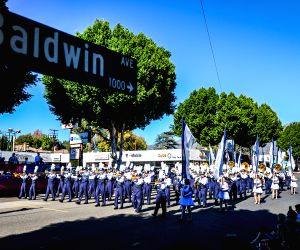 U.S.-LOS ANGELES-BANDS PARADE