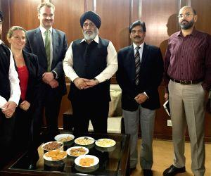British delegation calls on Daljit Singh Cheema