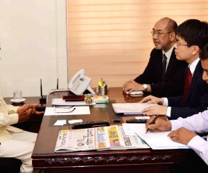 Business delegation from Japan calls on CM Naidu
