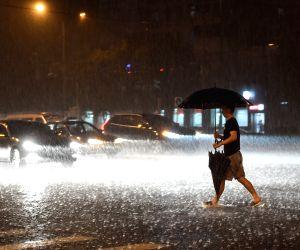 CHINA BEIJING RAINSTORM