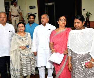 Patna: Congress delegation calls on Bihar Home Secretary
