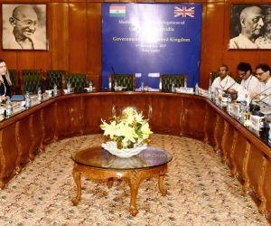 New Delhi:UK Minister Brandon Lewis Kiren Rijiju