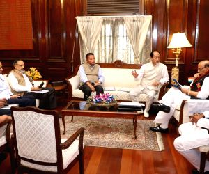 Delegation led by Nagaland CM meets Rajnath Singh