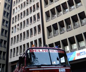 Fire breaks out in Kailash Building