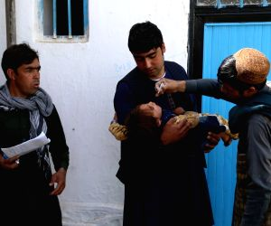 Afghanistan launches polio vaccination drive