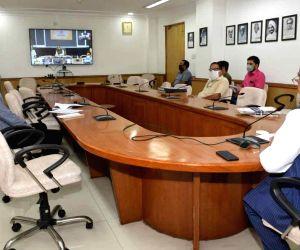 Free Photo: Nitin Gadkari chairs high-level meeting on Chambal Expressway project
