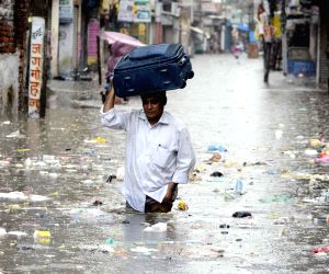 Flooded streets of Patna