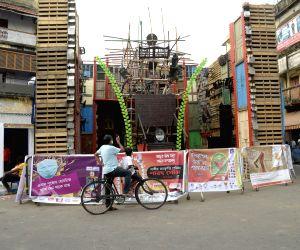 Preparations for Durga Puja on full swing in Kolkata