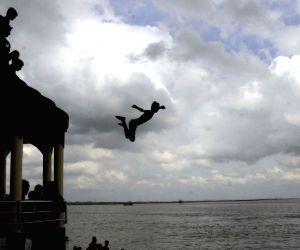 Plunge into Ganga