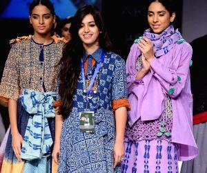 Lakme Fashion Week Winter/ Festive 2014 - Karishma Sahani