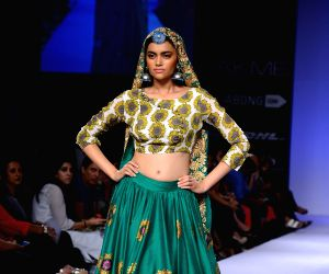 Lakme Fashion Week Winter/ Festive 2014 - Surendry