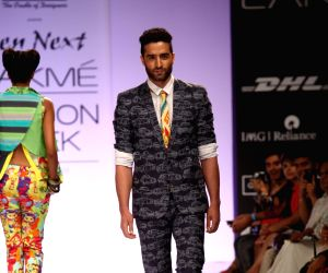 Gen Next show at Lakme Fashion Week Winter/ Festive 2013 - Day 1