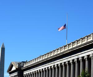 U.S. WASHINGTON SHOOTINGS HALF STAFF