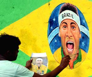 FIFA 2018 - Neymar's painting