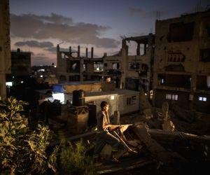 MIDEAST GAZA POWER OUTAGE