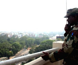 3rd India Africa Forum Summit - Security Beefed up