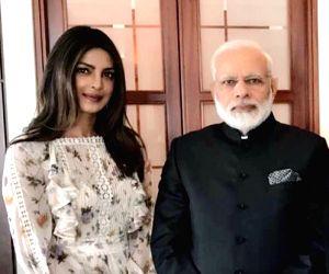 Priyanka Chopra meets Modi