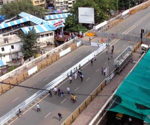 Lower Parel rail overbridge open to pedestrians