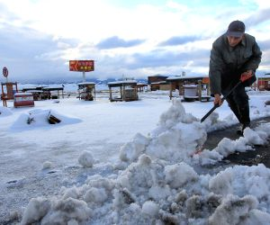 CHINA XINJIANG HAMI SNOW
