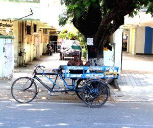 Rickshaw-puller Enjoys His Siesta