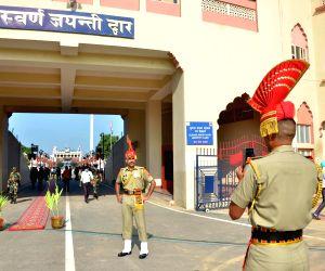 Attari (Amritsar): 74th Independence Day celebrations at the Attari-Wagah Border