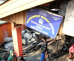 One more school burnt in Kashmir
