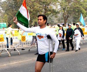 Kolkata Police's Safe Drive Save Life Marathon